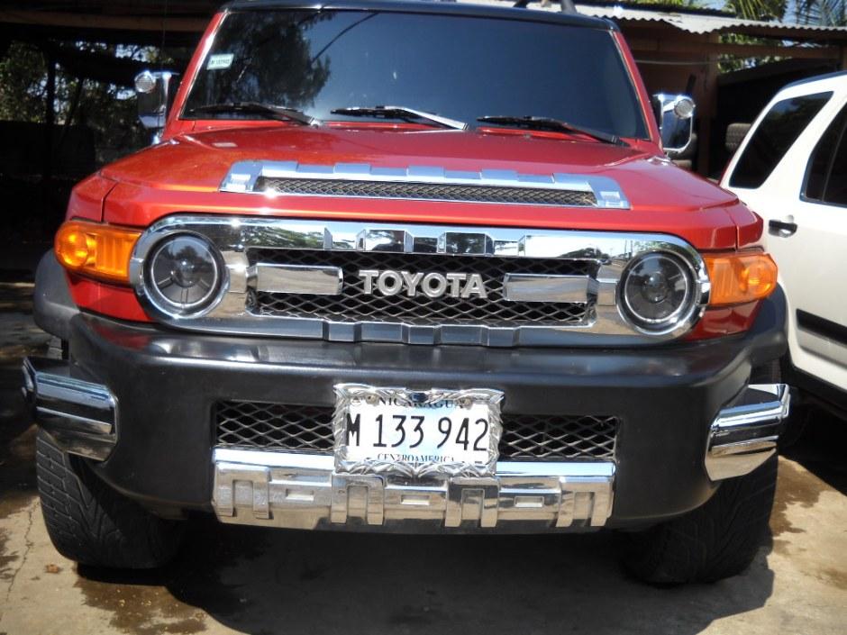 TOYOTA FJ CRUISER 2007