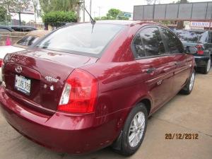 IMG_ Hyundai Accent 2008 en Managua