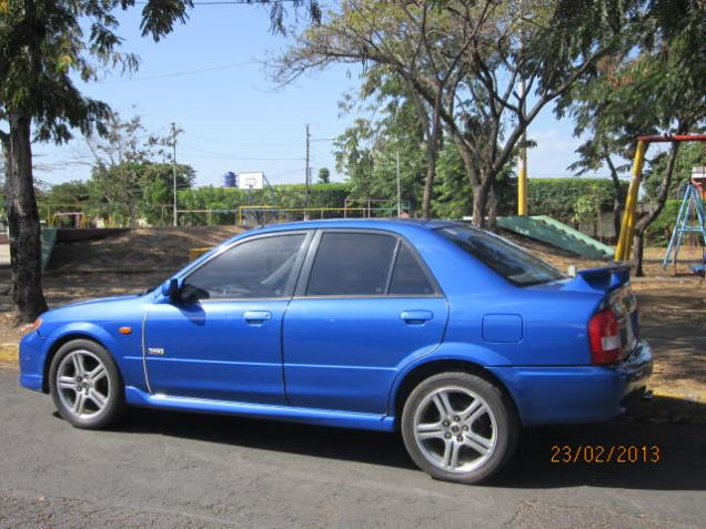 Mazda Mp3 en Managua 2002 (version Deportiva) (14)
