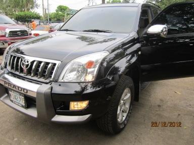 IMG_ Toyota Prado en Managua  Nicaragua 2008